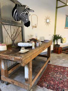 Oude Werkplaats DB koffietafel